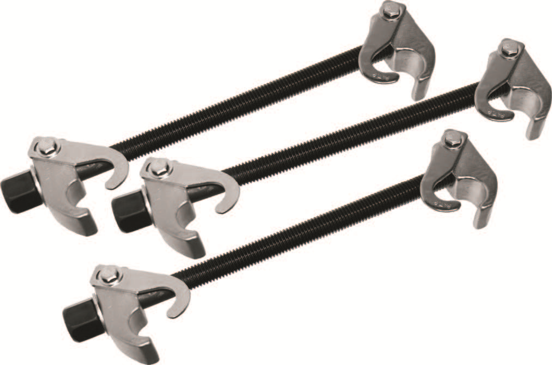 3 Pc McPherson Strut Spring Clamp Set